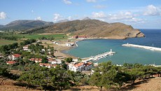 Gökçeada - Kaleköy, port for fishermen